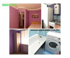 Снять квартиру на сутки Урай дешево 8(922)40-000-40-аренда квартир в урае